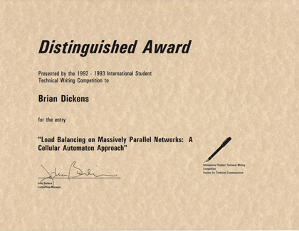 STC Distinguished Award